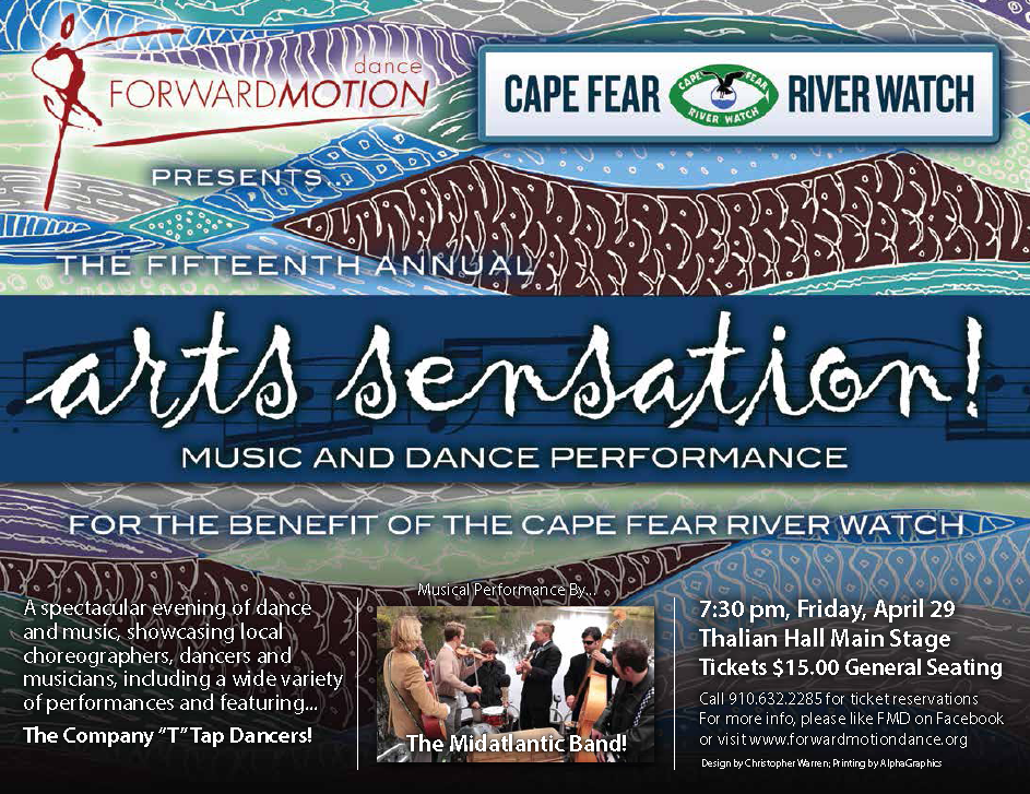 Arts Sensation Dance Event in Wilmington 2016